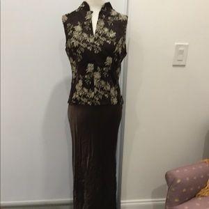 Odessa chinese silk top